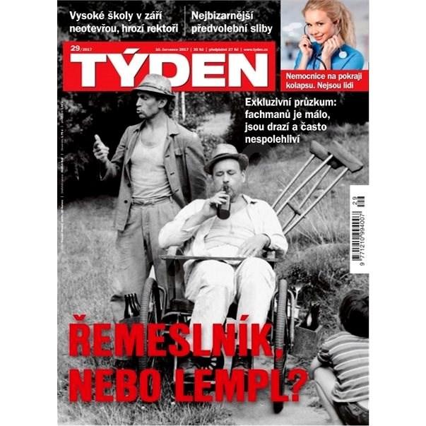 Týden - 29/2017 - Elektronický časopis