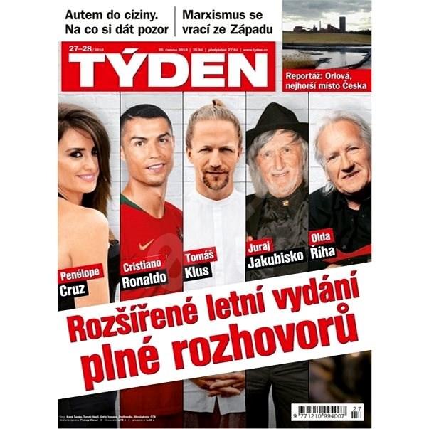 Týden - 27_28/2018 - Elektronický časopis