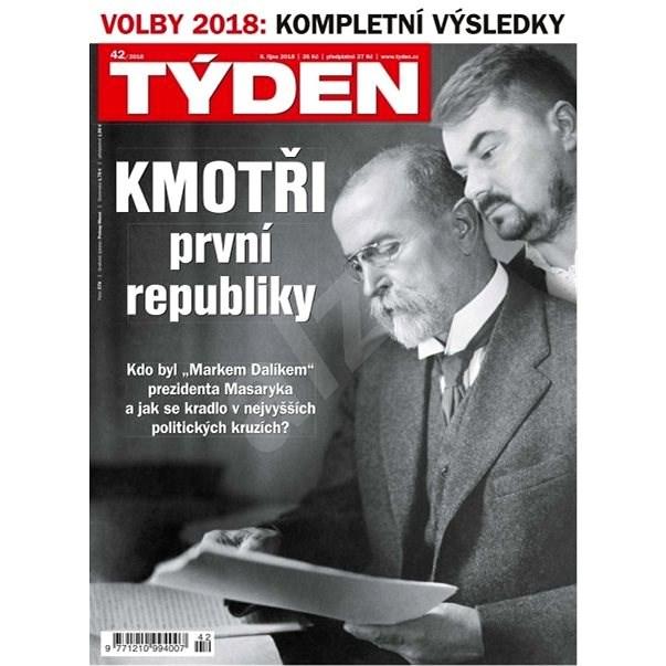 Týden - 42/2018 - Elektronický časopis