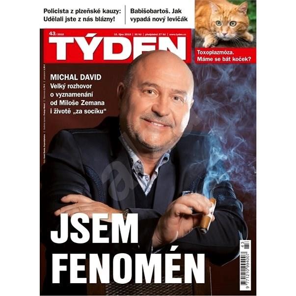Týden - 43/2018 - Elektronický časopis