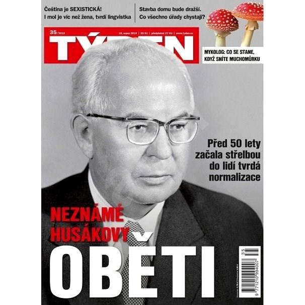Týden - 35/2019 - Elektronický časopis