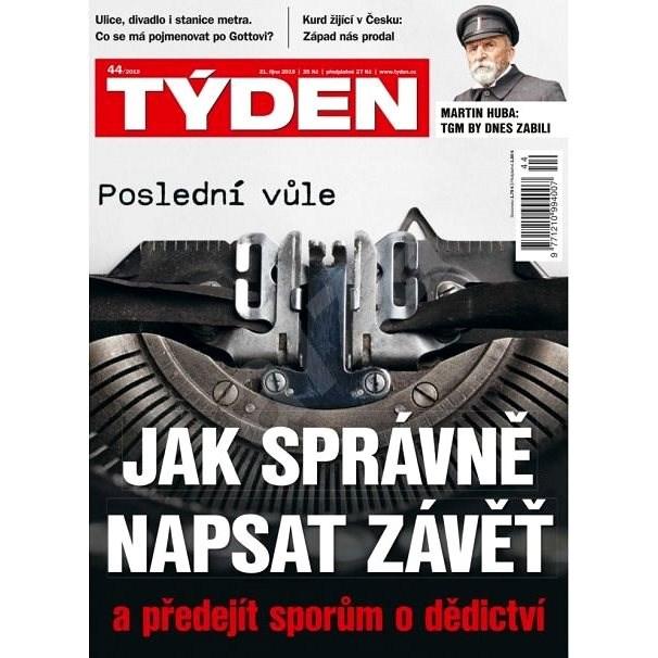 Týden - 44/2019 - Elektronický časopis