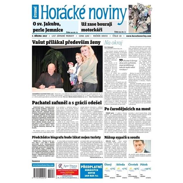 Horácké noviny - Úterý 7.2.2017 č. 019 - Elektronické noviny