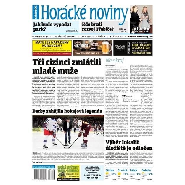 Horácké noviny - Středa 6.2.2019 č. 010 - Elektronické noviny
