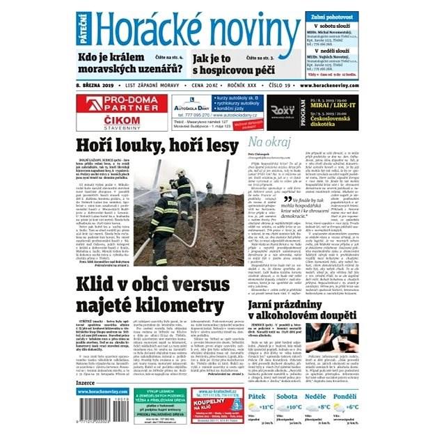 Horácké noviny - Pátek 8.3.2019 č. 019 - Elektronické noviny