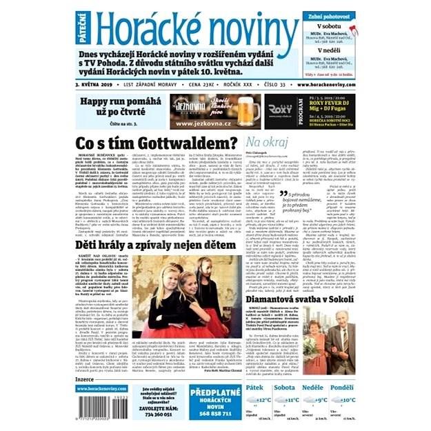 Horácké noviny - Pátek 3.5.2019 č. 033 - Elektronické noviny