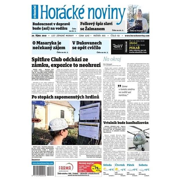 Horácké noviny - Středa 30.10.2019 č. 082 - Elektronické noviny