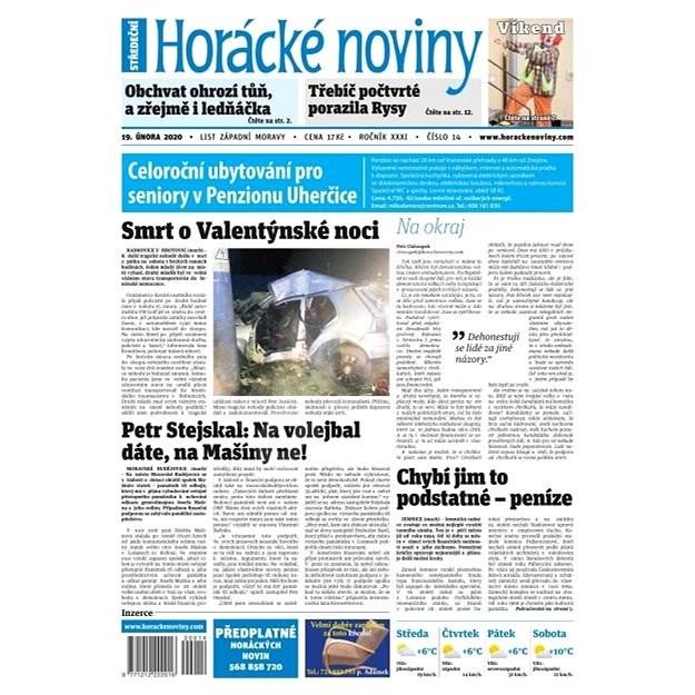 Horácké noviny - Středa 19.2.2020 č. 014 - Elektronické noviny