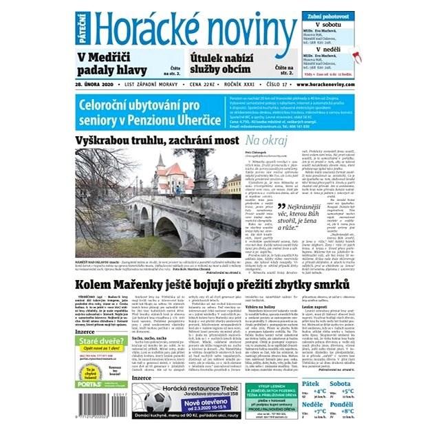 Horácké noviny - Pátek 28.2.2020 č. 017 - Elektronický časopis