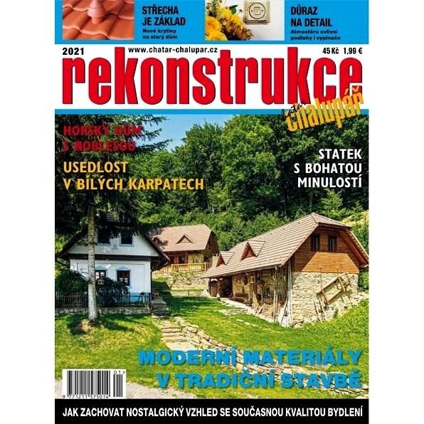 Rekonstrukce chalup a chat - 1/2021 - Elektronický časopis