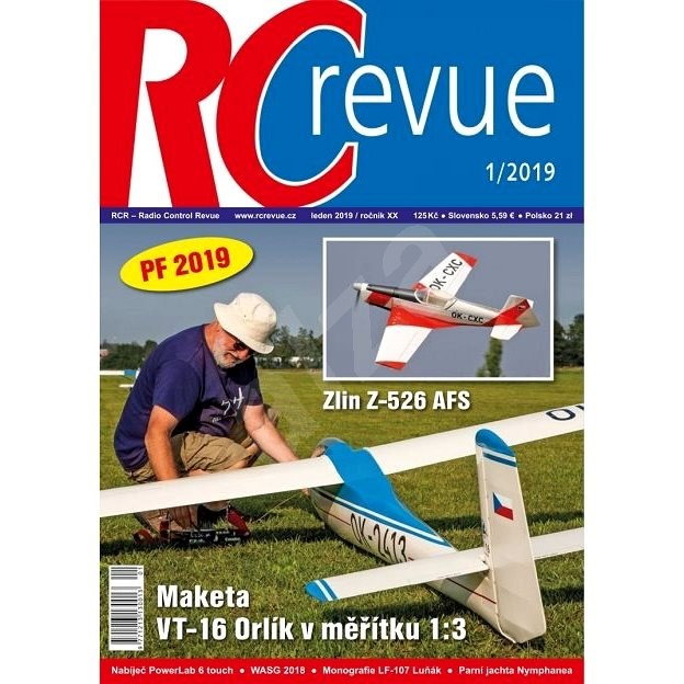 RC Revue - 1/2019 - Elektronický časopis