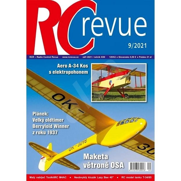 RC Revue  - 9/2021 - Elektronický časopis