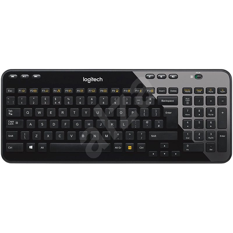 Logitech Wireless Keyboard K360 - UK - Klávesnice
