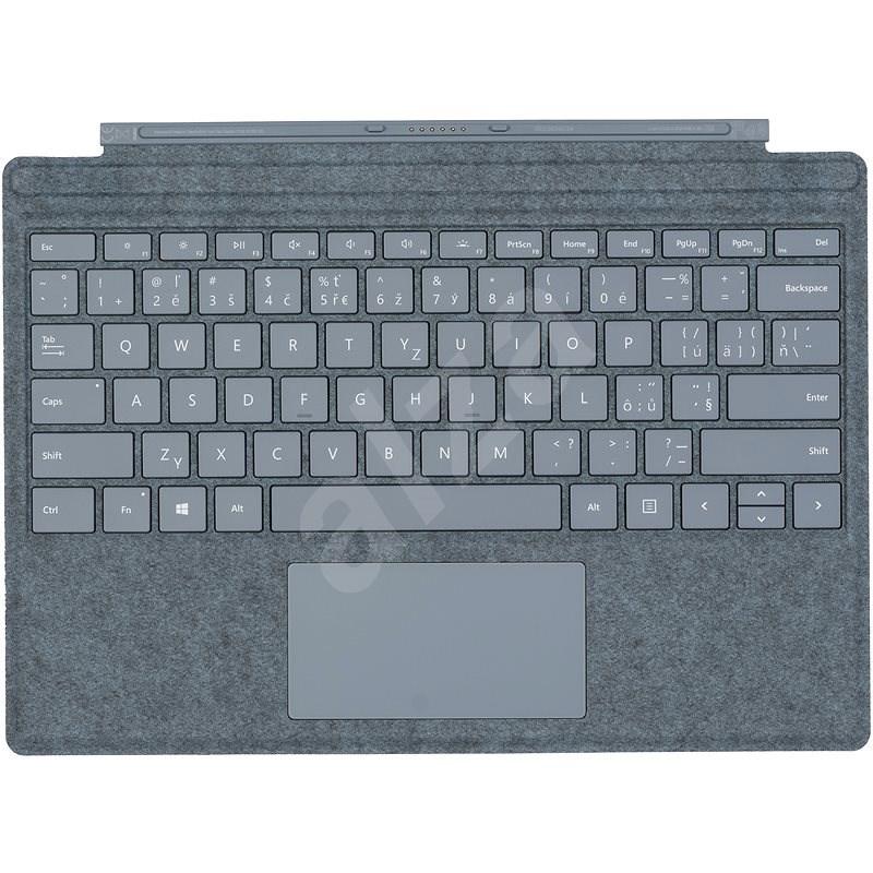 Microsoft Surface Pro Type Cover Ice Blue - CZ/SK - Klávesnice