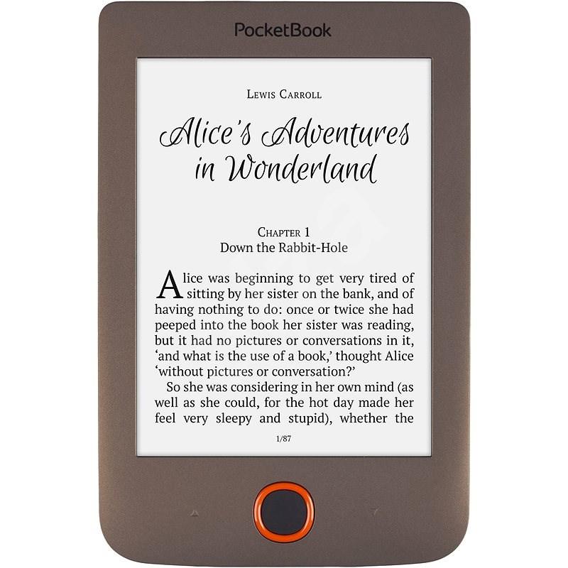PocketBook 615 Basic Lux hnědý - Elektronická čtečka knih