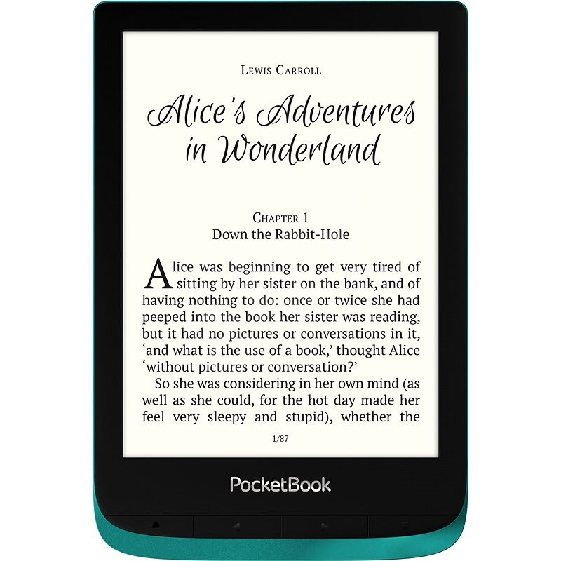 PocketBook 627 Touch Lux 4 Emerald - Elektronická čtečka knih