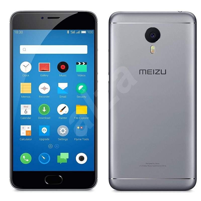 MEIZU M3 Note Grey - Mobilní telefon