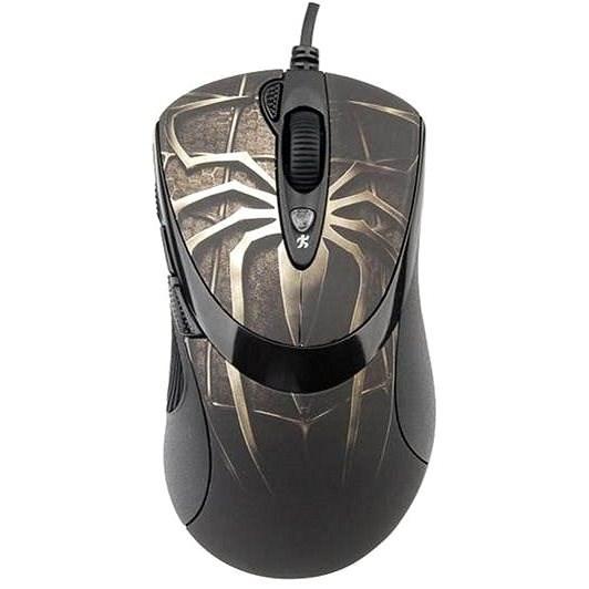 A4tech XL-747H Gaming motiv pavouk hnědý - Herní myš