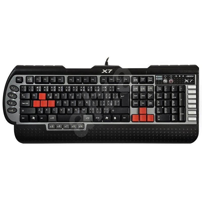 A4tech G800V - CZ - Herní klávesnice