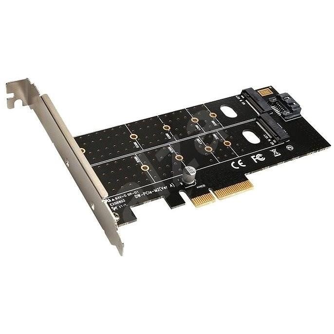 EVOLVEO NVMe & M.2 SSD PCIe, rozšiřující karta - Rozšiřující karta