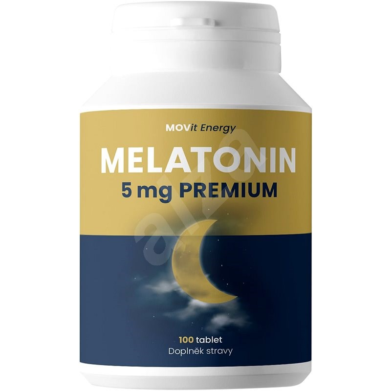 MOVit Melatonin Premium 5 mg, 100 tablet - Melatonin
