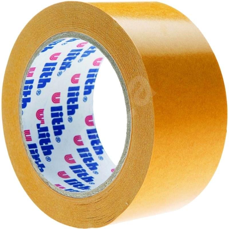 Kobercová páska s PP nosičem 50mm x 5m - Lepicí páska