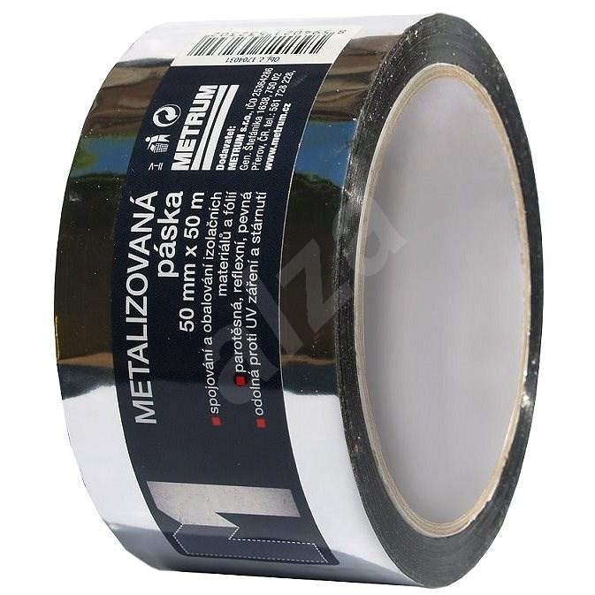 LOCKTAPE metalizovaná páska 50mmx50m - Lepicí páska