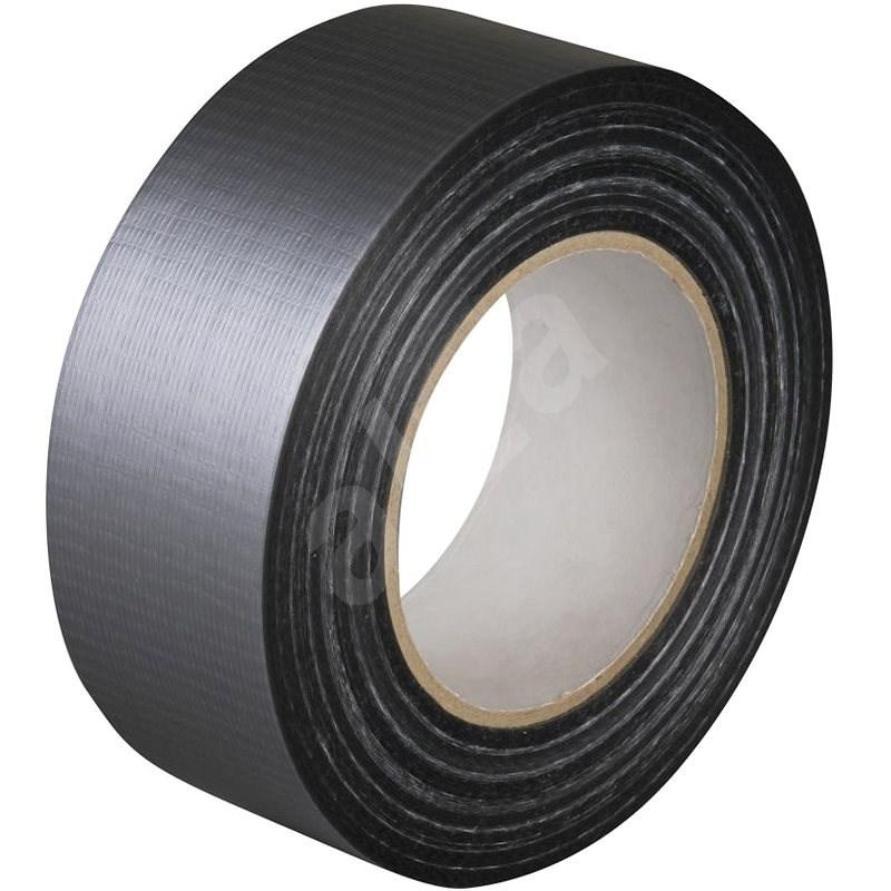 Textilní stříbrná DUCT páska 25mm x 10m - Lepicí páska