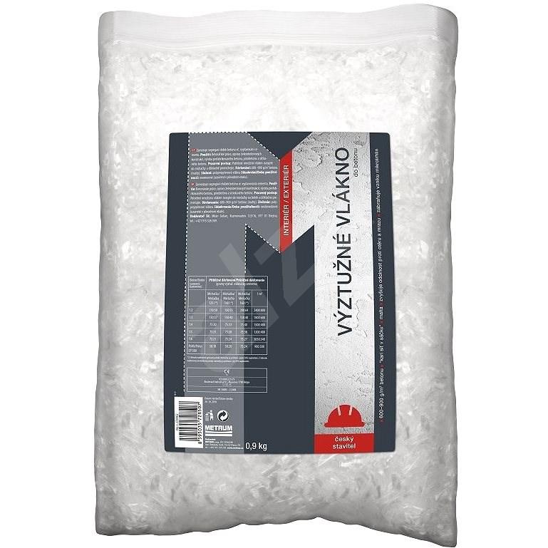 Výztužné vlákno do betonu 0,9kg - Vlákno