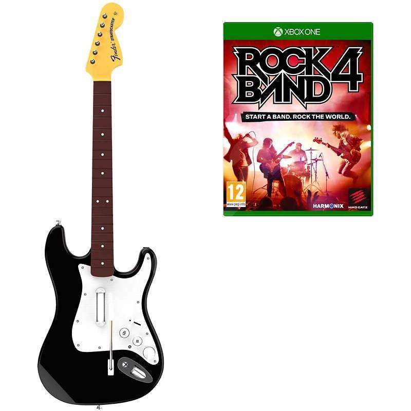 Mad Catz Rock Band 4  Xbox One Stratocaster - Ovladač