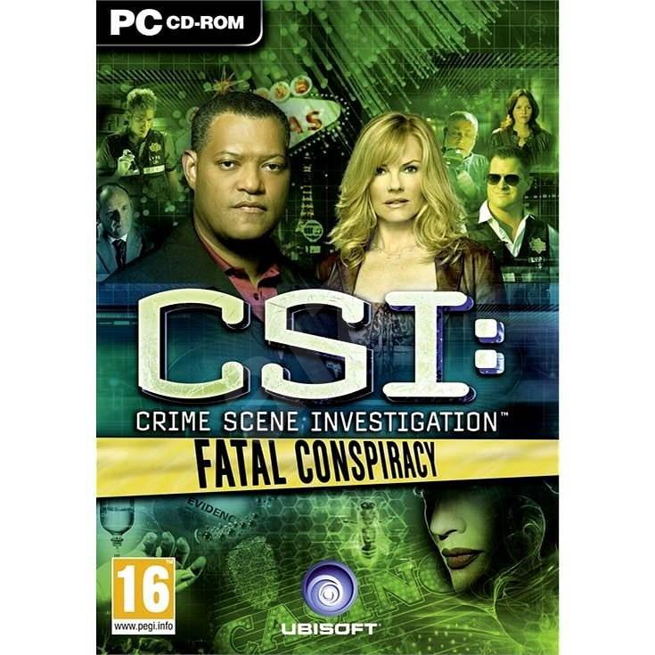 CSI: Fatal Conspiracy - Hra na PC