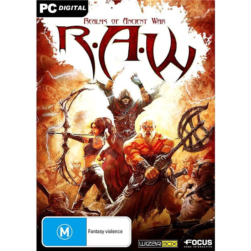 R.A.W.: Realms of Ancient War - Hra na PC