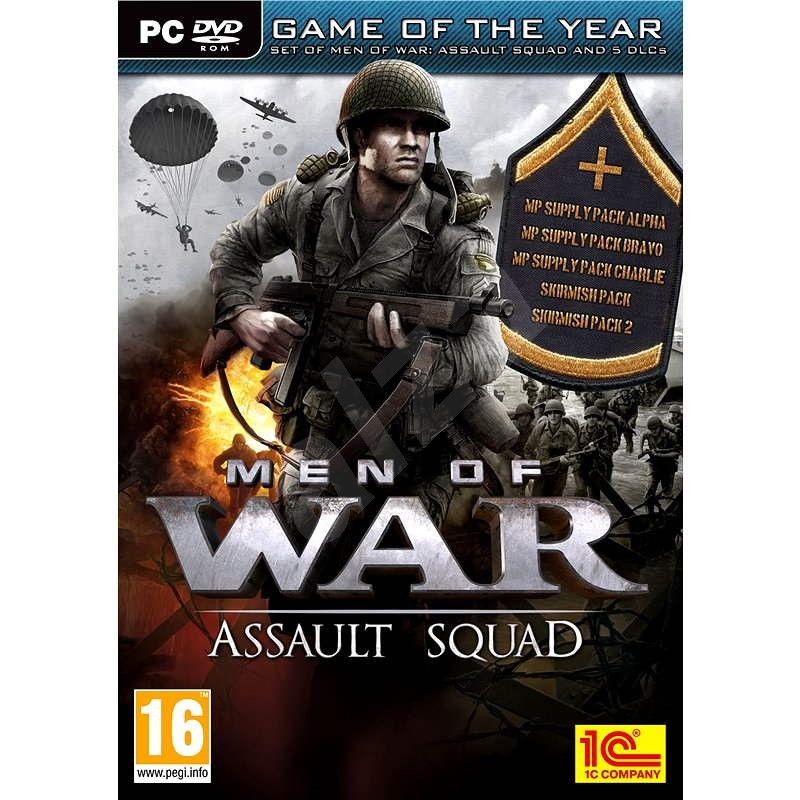 Men of War: Assault Squad Game Of The Year Edition - Hra na PC