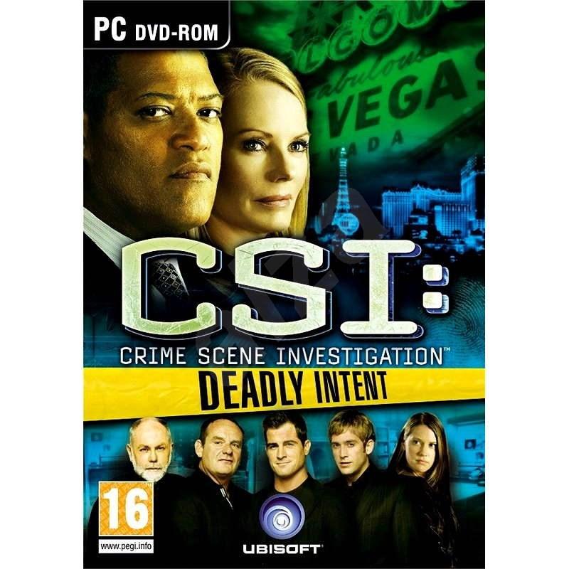 CSI: Deadly Intent - Hra na PC