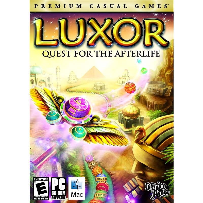 Luxor: Quest for the Afterlife (MAC) - Hra na MAC