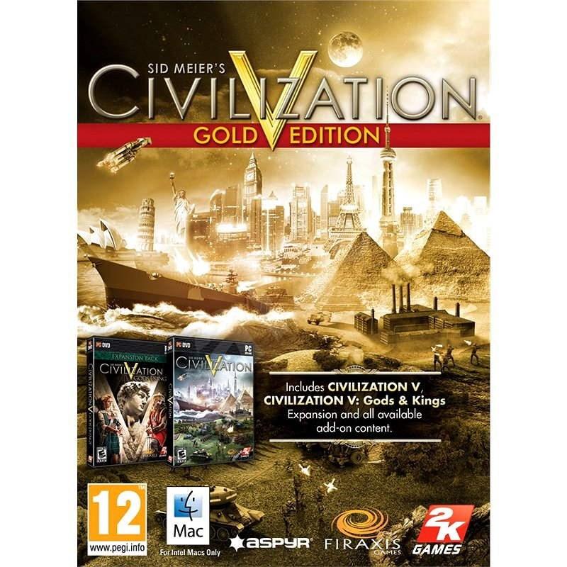 Sid Meier's Civilization® V Gold Edition (MAC) - Hra na MAC