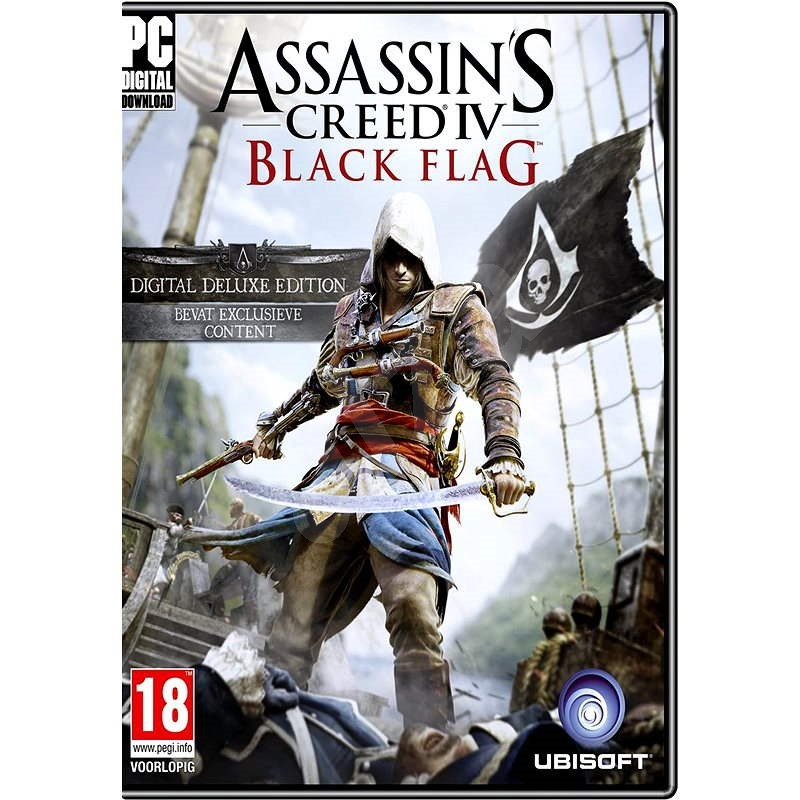 Assassin's Creed IV Black Flag Deluxe Edition - Hra na PC