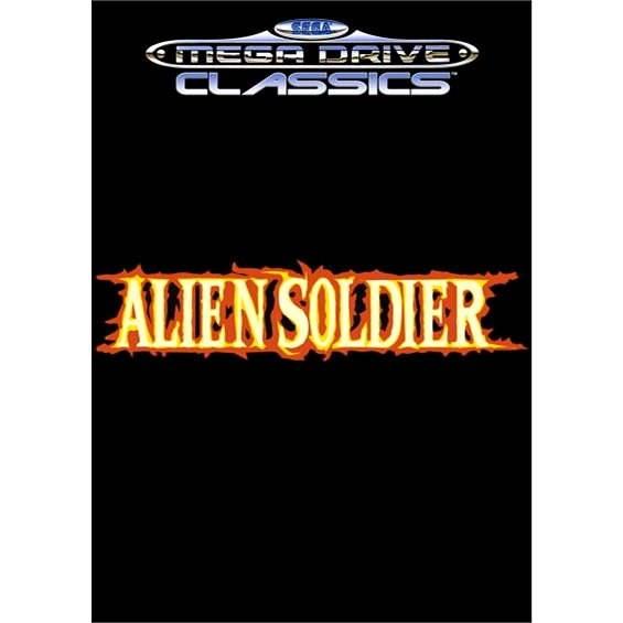 Alien Soldier - Hra na PC