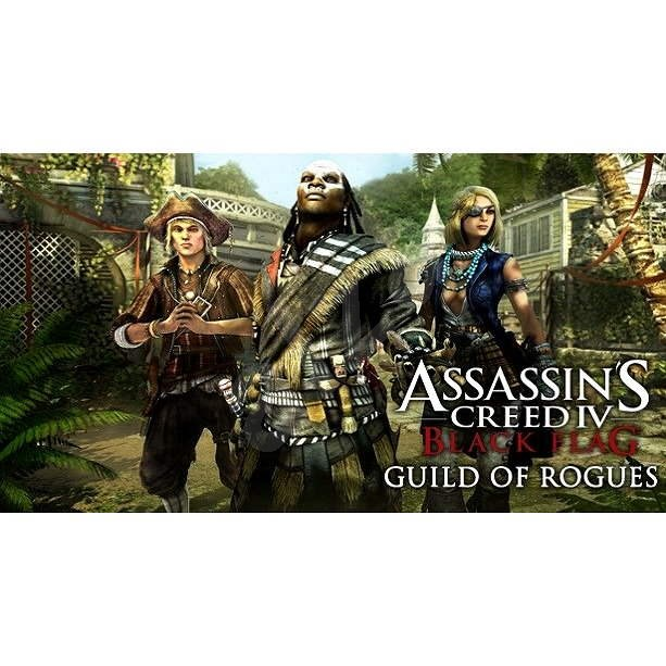 Assassin's Creed IV Black Flag - DLC 9 - Guild of Rogues - Hra na PC
