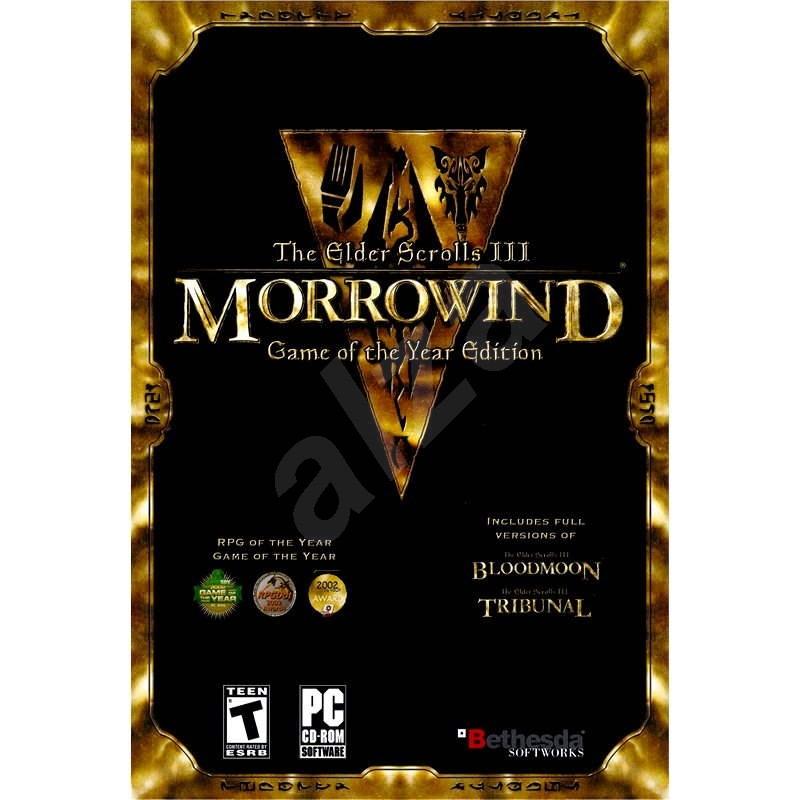 The Elder Scrolls III - Morrowind Game of the Year - Hra na PC