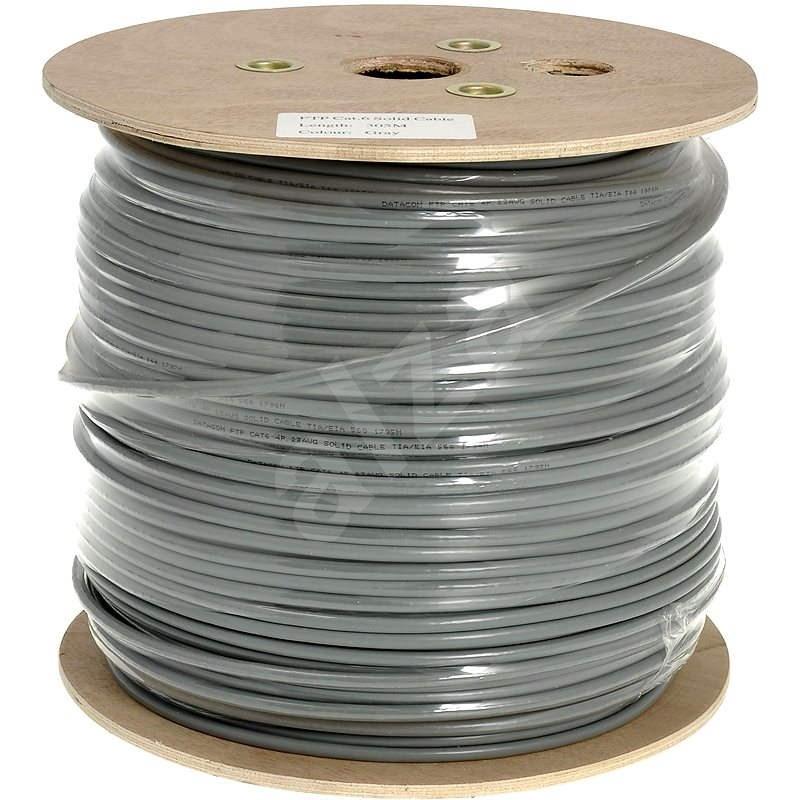 Datacom drát, CAT6, FTP, PVC, 500m/cívka  - Síťový kabel