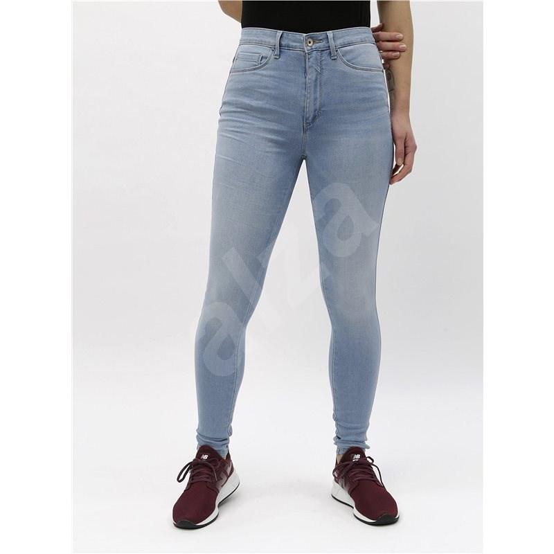 ONLY Světle modré skinny džíny s vysokým pasem Royal M 28/34 - Džíny