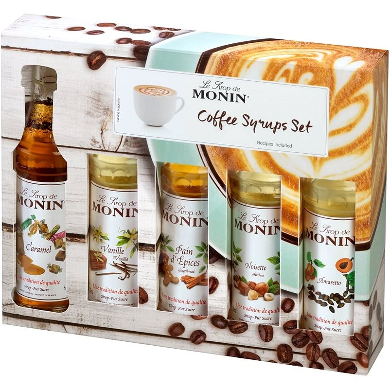 MONIN COFFEE BOX MINI 5 x 0,05 l - Příchuť