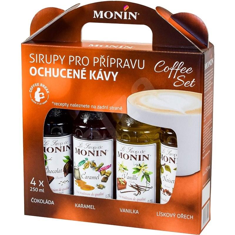 MONIN COFFEE BOX 4 x 0,25 l sirup - Příchuť