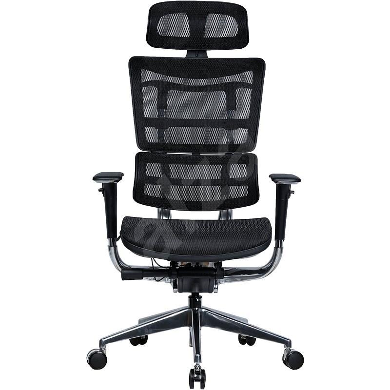 MOSH AIRFLOW-801 černá - Kancelářská židle
