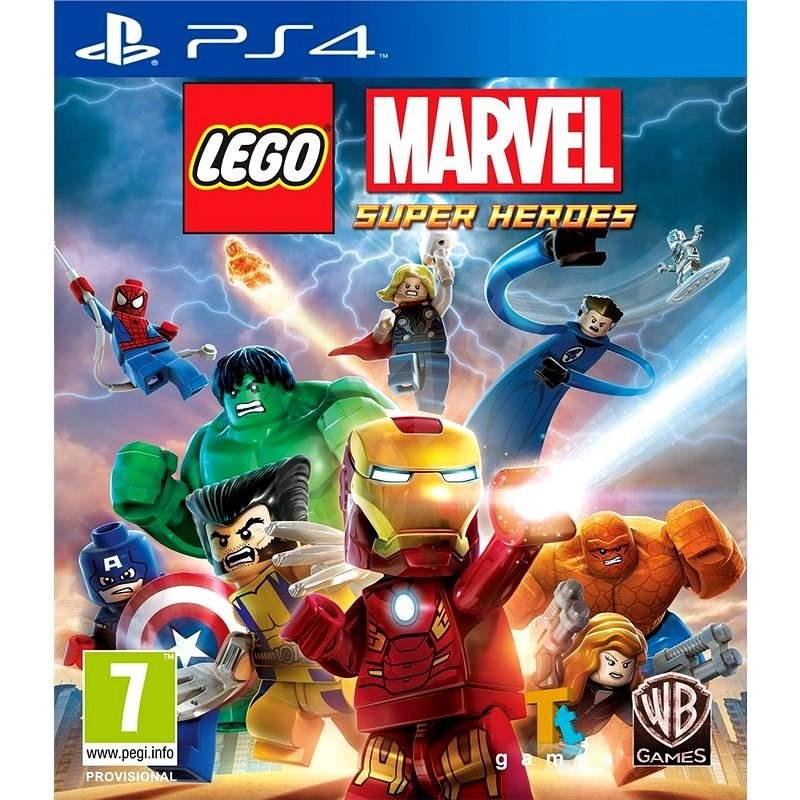 LEGO Marvel Super Heroes - PS4 - Hra na konzoli