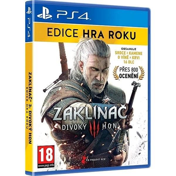 Zaklínač 3: Divoký hon - Edice Hra Roku CZ - PS4 - Hra na konzoli