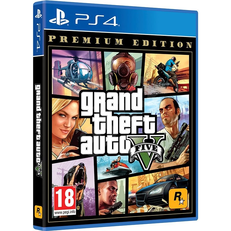 Grand Theft Auto V (GTA 5): Premium Edition - PS4 - Hra na konzoli