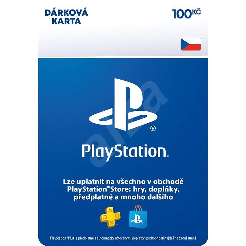PlayStation Store - Kredit 100 Kč - CZ Digital - Dobíjecí karta