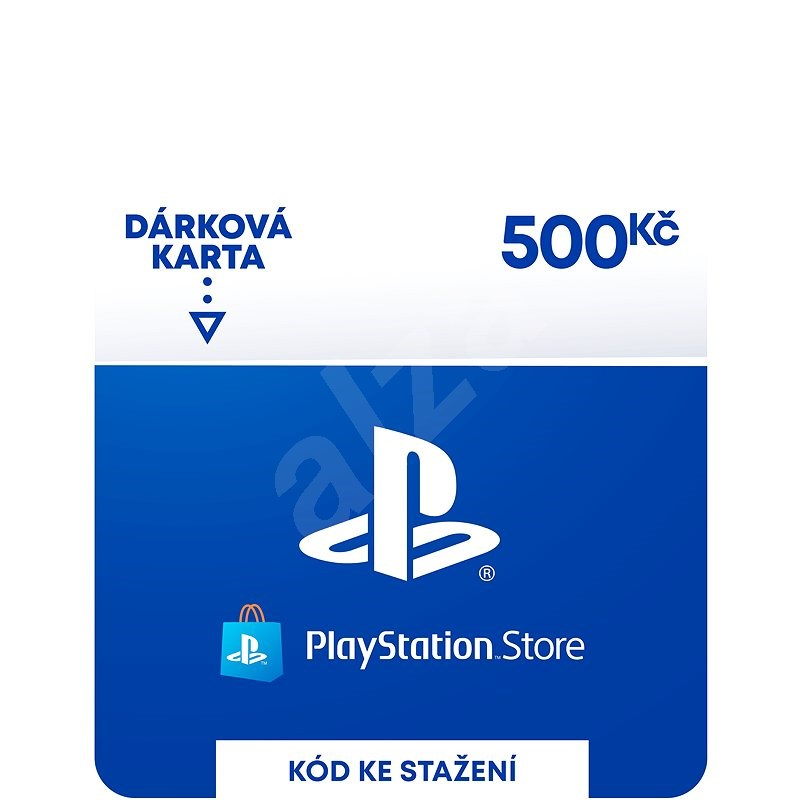 PlayStation Store - Kredit 500 Kč - CZ Digital - Dobíjecí karta